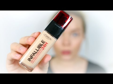 L'Oreal Infallible 24hr Foundation ♡ Review & Wear Test