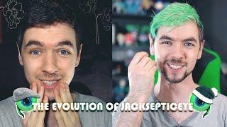 THE EVOLUTION OF JACKSEPTICEYE | Jacksepticeye Edits