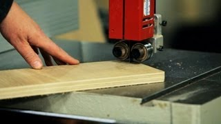 How to Use a Band Saw   Woodworking