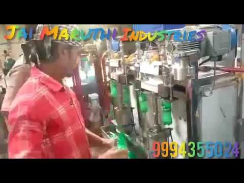 SS Pneumatic Four Head PET Bottle Filling Machine