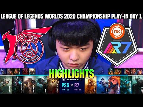 2020世界賽 PSG vs R7 空月13/1/8 如入無人之境拿一勝 GAME1精華