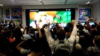 Isabelle  - (Animal Crossing) - Isabelle Reveal for Super Smash Bros. Ultimate and New Animal Crossing Live Reactions at Nintendo NY