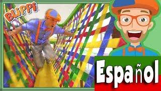 Videos para Niños con Blippi Español   Aprende los Colores y los Números