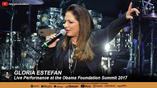 Gloria Estefan   Live Performance At The Obama Foundation Summit 2017