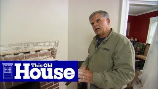 How To Upgrade A Mantel, Hearth, And Surround | This Old House