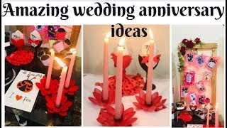 Romantic  Wedding Anniversary Ideas At Home