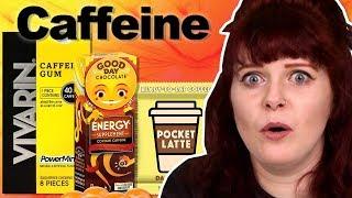 Irish People Try American Caffeinated Candy