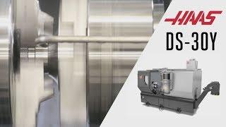 Демонстрация работы токарно-револьверного обрабатывающего центра Haas DS-30Y