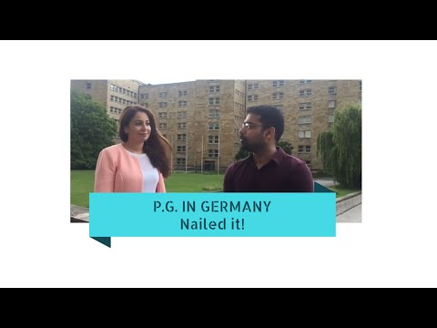 Video P.G. In Germany| Nailed it| MCI|MBBS in Ukraine P1