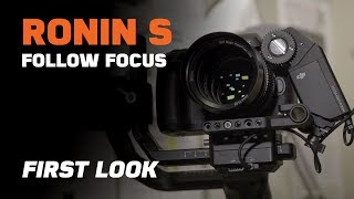 Ronin S focus motor first look