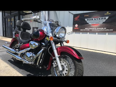 2007 Suzuki Boulevard C50 in Greenville, North Carolina - Video 1