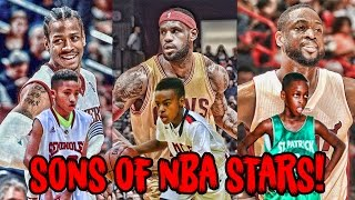 5 Sons of NBA LEGENDS Who Play Just Like Their Dads!