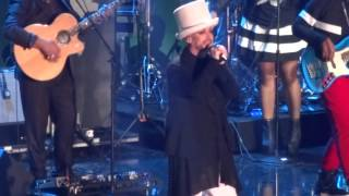 """Culture Club """"Starman"""" Tribute to David Bowie iHeart the 80s Party  2/20/16 The Forum"""