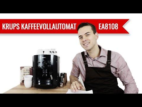 Krups Kaffeevollautomat EA8108 Test