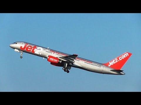 X plane 11 | Manchester - Paphos | Jet2 757 - смотреть