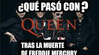 ¿Que Pasó Con Queen Tras la muerte de Freddie Mercury? Franco Novoe