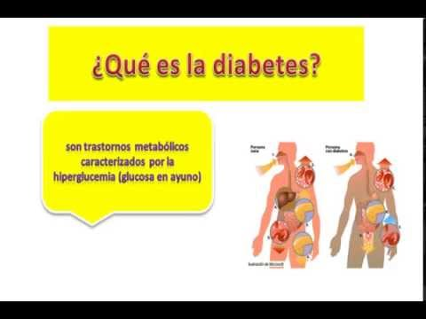 Tabla de productos permitidos y prohibidos en la diabetes tipo 2