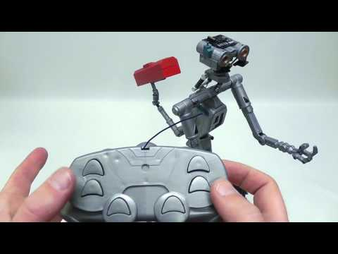 "Unboxing my RC controlled ""Johnny 5"" robot from Short Circuit"