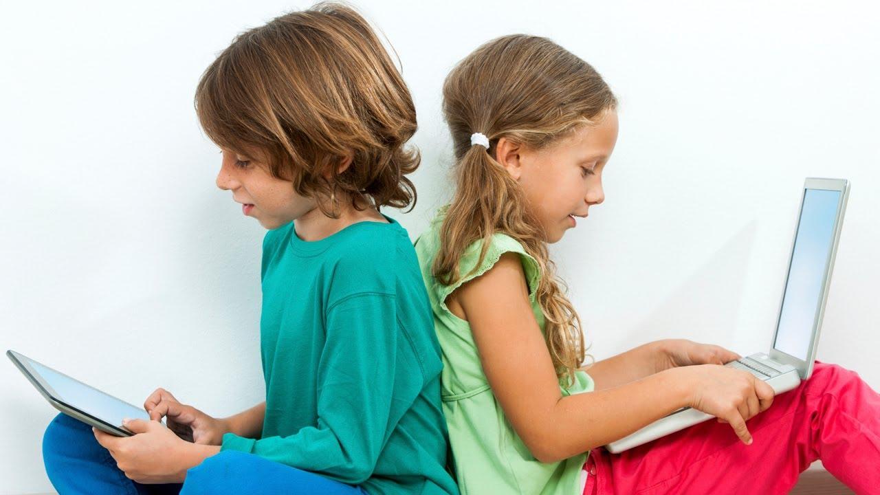 El acceso de los niños a las redes sociales