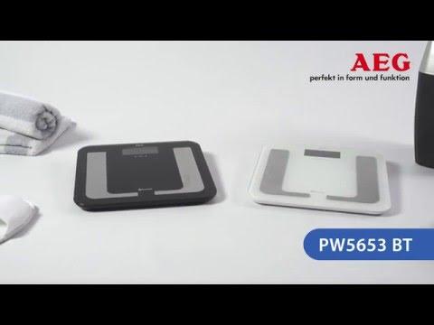 Waga łazienkowa 8w1 z funkcją Bluetooth AEG PW 5653 BT