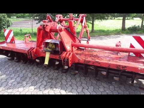Krone Bodenfräse KroneTRS400 mit Pakerwalze&Hydr Hitch