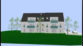 preview picture of video '6- Familienhaus in Aichach - Oberbernbach, grosse 4- und 3- Zimmerwohnungen'