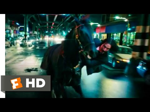 John Wick: Chapter 3 - Parabellum (2019) - Horse Stable Fight Scene (2/12)   Movieclips