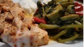 diyet yemek tarifi  yağsız tuzsuz  kabaklı bulgurlu semizotu + tavuk