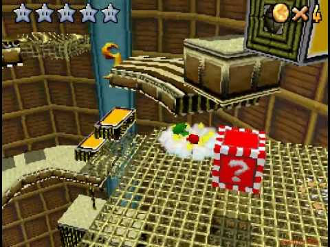 Super Mario 64 DS Walkthrough - Course 14- Part 35 by