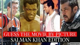 Guess The Bollywood Movie By The Picture | Salman Khan Movies Edition | Source of Bollywood
