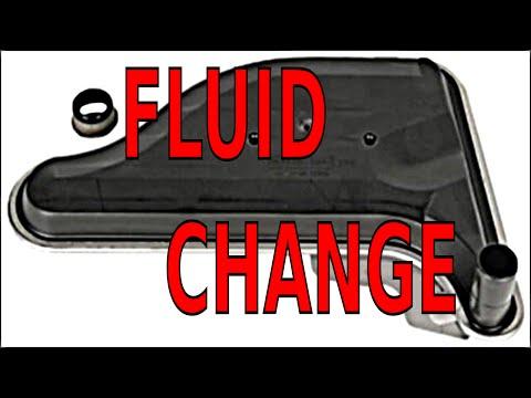 GM 4T65E transmission fluid and filter service - смотреть онлайн на