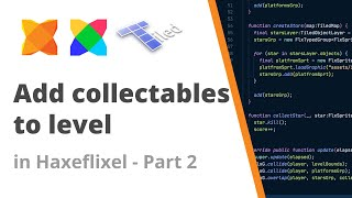 15. Adding collectables with Tiled Map editor to a HaxeFlixel game - Part 2