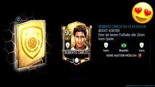 ICH hole MIR ROBERTO CARLOS! 😱🔥 FIFA Mobile ICON SBC ⚽ PacksTrader
