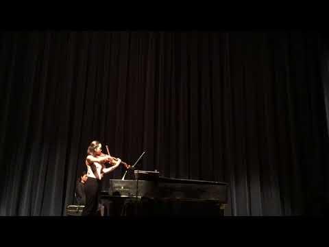 Rebecca Clarke Viola Sonata (1919) Jacobs School of Music Recital Hall 2018