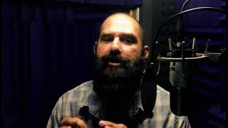 I will be your voice actor for a professional male voice over