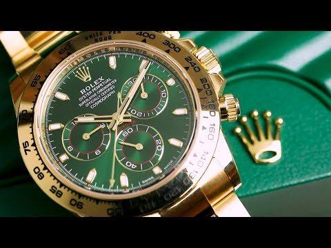 Een splinternieuwe 'Money Green' Rolex Daytona - Unboxing & Review Rolex Daytona 116508
