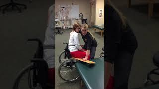 Slide Board Transfer-Patient Participating