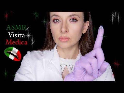 ASMR Ita 🇮🇹 Visita Medica *Medical Role Play in Italian