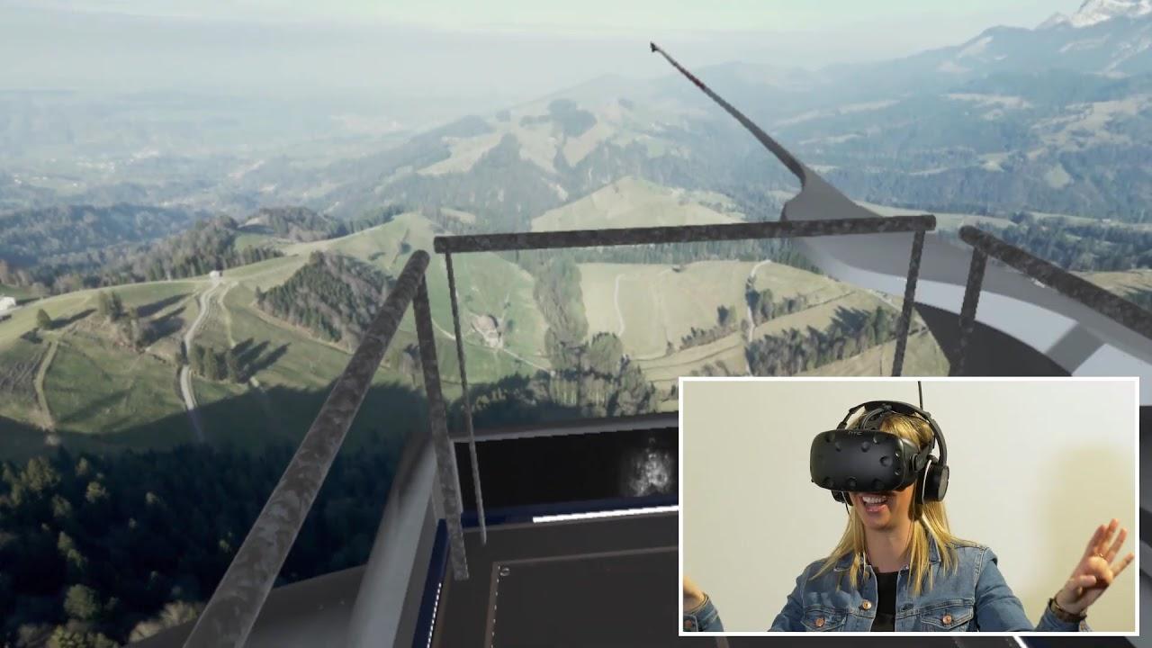Windkraftwerk Lutersarni im Entlebuch live erleben - VR-Experience von CKW | CKW