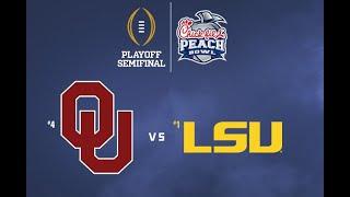 Oklahoma x LSU - Peach Bowl - 28/12/19 - Full Match