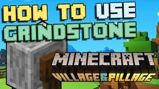How to Use Grindstone - Minecraft 2019