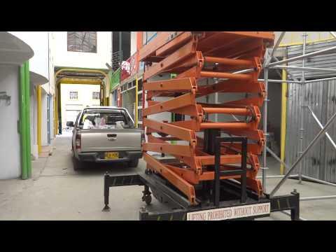 VIDEO PLATAFORMA ELEVADORA TIPO TIJERA