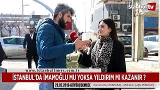İSTANBUL'DA İMAMOĞLU MU YOKSA YILDIRIM MI KAZANIR ?