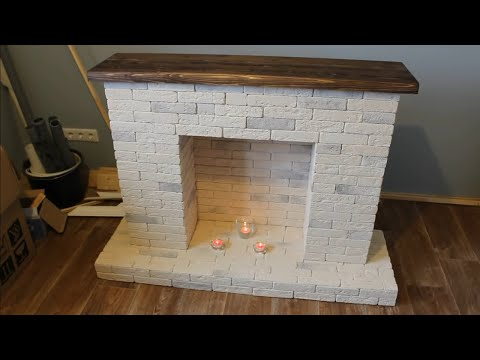 Декоративный фальш-камин своими руками за 1 день. Как сделать декоративный камин самому.