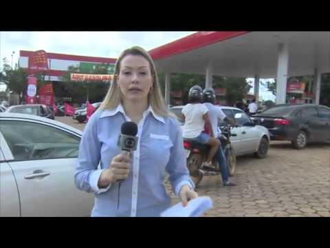 Posto de gasolina de Porto Velho vende gasolina sem valor de impostos como protésto