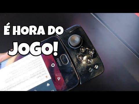 (Vídeo) Moto Snap GAMEPAD: Quando um smarphone vira um vídeo Game