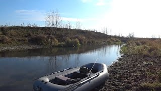 Рыбалка на блесну в ноябре
