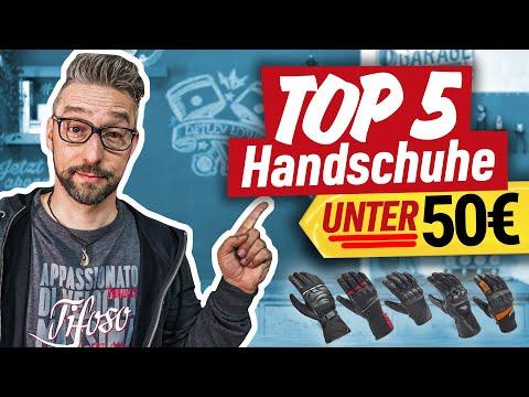 TOP 5 Motorrad-Handschuhe UNTER 50 Euro!