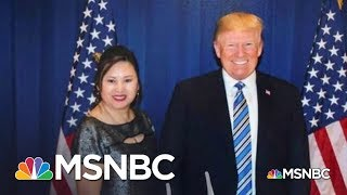 Missing Inaugural Ball Money Adds Layer To Odd Trump-China Story | Rachel Maddow | MSNBC