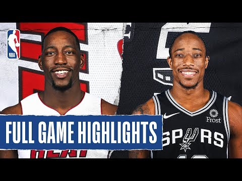 HEAT at SPURS   FULL GAME HIGHLIGHTS   January 19, 2020